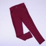 Детски клин тип панталон интерлог бордо