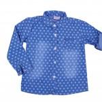 Синя риза за момиче