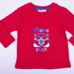Червена блуза за момче
