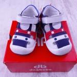 Ортопедични детски обувки естествена кожа