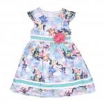 Детска рокля сатен