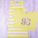 Детска рокля с тениска