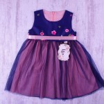 Детска рокля сатен и тюл