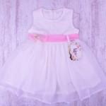 Празнична детска рокля дантела и шифон