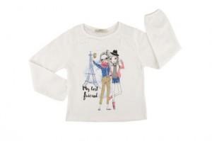 Детска блуза с дълъг ръкав за момиче