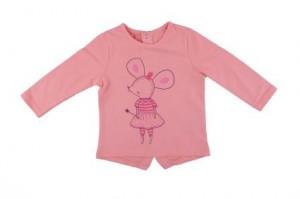 Детска блуза за момиче с мишле