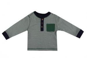 Детска блуза за момче на райе