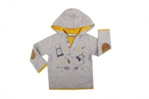 Детска блуза за момче с качулка
