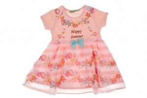 Пролетна рокля за момиче
